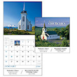 Scenic Churches Wall Calendars